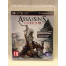 Assassin's Creed III Sony Playstation 3 PS3 Pal