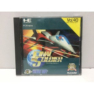 Final Soldier NEC Pc Engine PCE HU CARD