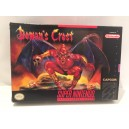 Demon's Crest SNES Super Nintendo US