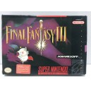 Final Fantasy III 3 SNES Super Nintendo US