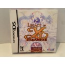 Legacy of YS - Books I & II Nintendo DS US