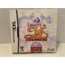 Legacy of YS - Books I & II Nintendo DS US
