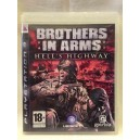 "Brothers In Arms ""Hell's Highway"" Sony Playstation 3 PS3 Pal"