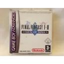 "Final Fantasy I & II ""Dawn Of Souls"" Nintendo Game Boy Advance Pal"