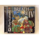 Breath Of Fire IV Sony Playstation 1 PS1 US