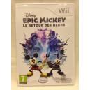 "Disney Epic Mickey ""Le Retour Des Heros"" Nintendo Wii Pal"