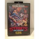 Streets Of Rage Sega Megadrive US Genesis