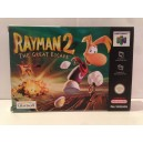 Rayman 2 The Great Escape Nintendo 64 N64 Pal