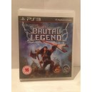 Brutal Legend Sony Playstation 3 PS3 Pal