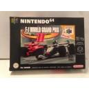 F1 World Grand Prix II 2 Nintendo 64 N64 Pal