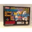 Les Schtroumpfs Autour du Monde Nintendo Super NES SNES Pal