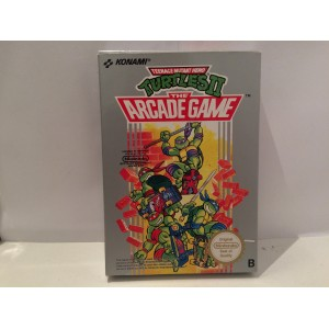 Teenage Mutant Hero Turtles II 2 Nintendo NES