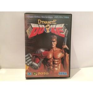 Dynamite Duke Sega Megadrive Jap