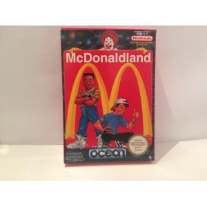 Mc DonaldLand Nintendo NES Pal