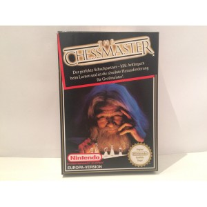 The Chess Master Nintendo NES Pal