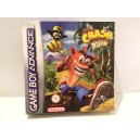 Crash Bandicoot XS Nintendo Game Boy Advance GBA pal