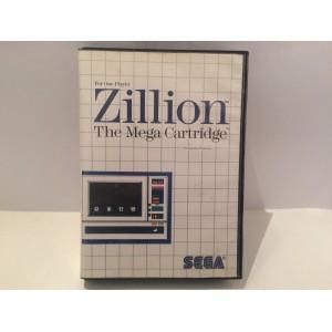 Zillion The Mega Cartridge Sega Master System Pal