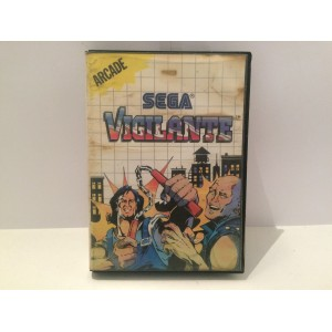 Vigilante Sega Master System Pal