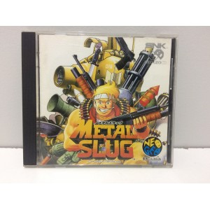 Metal Slug SNK Neo Geo CD Jap