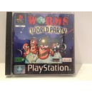 Worms World Party Sony Playstation 1 PS1 pal