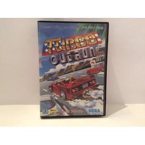 Turbo Outrun Sega Megadrive Jap