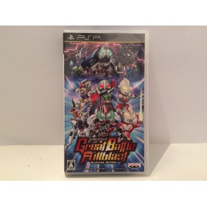 Great Battle Fullblast Sony Playstation Portable PSP Jap