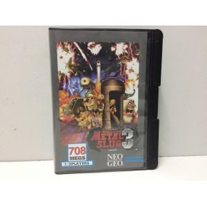 Metal Slug 3 SNK Neo Geo AES US