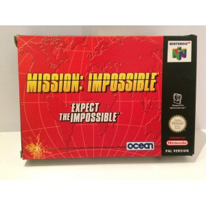 Mission Impossible Nintendo 64 N64 Pal