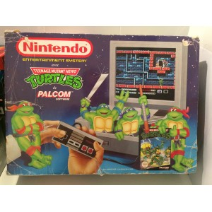 Console Nintendo Nes Pal Teenage Mutant Ninja Turtles TMNT