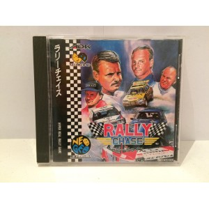 Rally Chase (Thrash Rally) SNK Neo Geo CD Jap