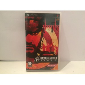Metal Gear Solid Portable Ops Sony Playstation PSP Pal