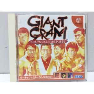 Giant Gram Japan Pro Wrestling 2 Sega Dreamcast Jap