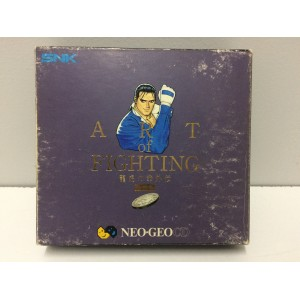 Art Of Fighting 3 Box Edition SNK Neo Geo CD Jap