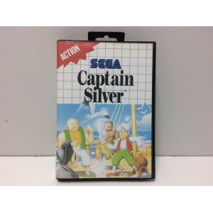 Captain SIlver Sega Master System Pal