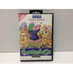 Lemmings Sega Master System Pal