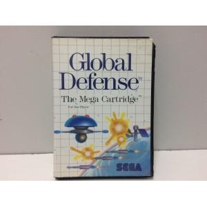 Global Defense Sega Master System Pal
