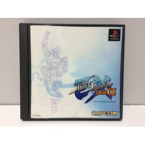 Street Fighter EX Plus Alpha Sony Playstation 1 PS1 Jap