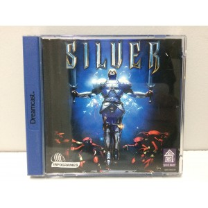 Silver Sega Dreamcast Pal