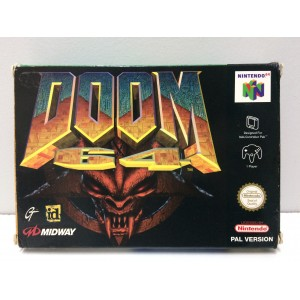 Doom 64 Nintendo N64 Pal