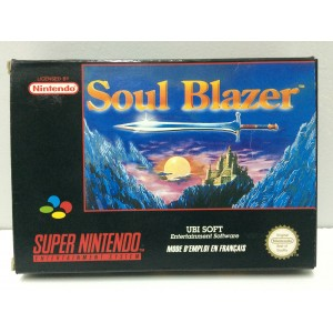 Soul Blazer Nintendo Super NES SNES Pal