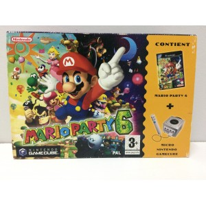 Mario Party 6 Microphone Pack Nintendo Gamecube Pal