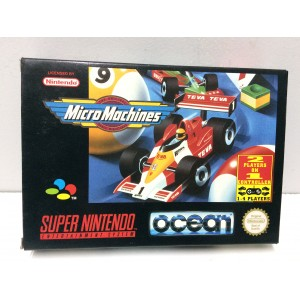 Micro Machines Nintendo Super NES SNES Pal