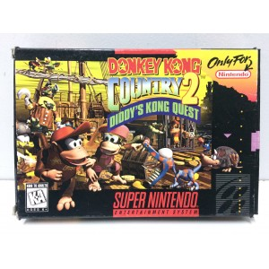 Donkey Kong Country 2 Nintendo Super NES SNES Pal