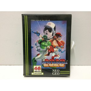 Super Baseball 2020 SNK Neo Geo AES US (No Manual)