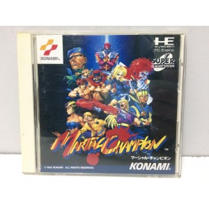 Martial Champion NEC Pc Engine PCE Super Cd Rom