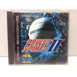 Power Spikes II 2 SNK Neo Geo CD Jap