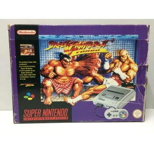 "Console Nintendo Super NES SNES Pal ""Street Fighter II 2 Turbo"" Pack"