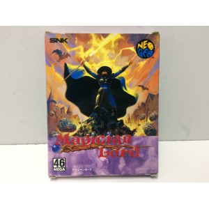 Magician Lord SNK Neo Geo AES Jap Wood Box