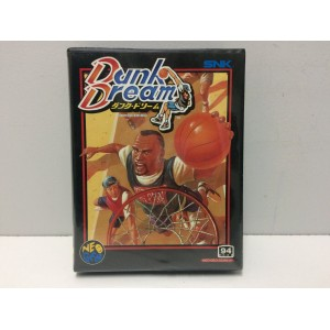 Dunk Dream SNK Neo Geo AES Jap (NeoCD Manual)