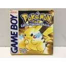 Pokemon Version Jaune Pikachu Nintendo Game Boy Pal